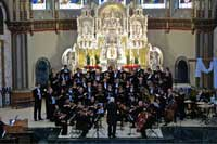 The Master Singers at St. Vincent De Paul chapel, Chicago, Illinois