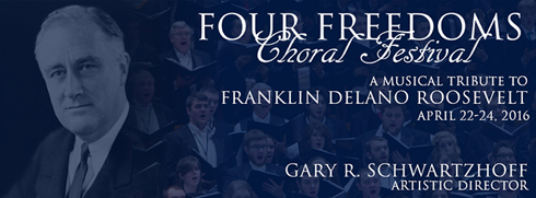 Four Feedoms Choral Festival Banner